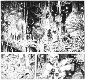 Nausicaa Manga intro